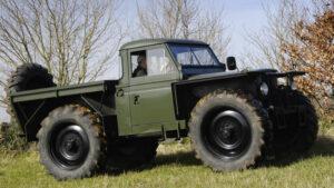 Fotos de los Land Rover Defender más raros