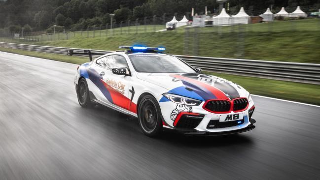 BMW M8 MotoGP Safety Car: seguridad y rendimiento superlativos