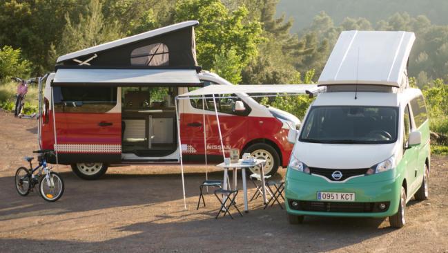 Fotos de las nuevas Nissan Camper
