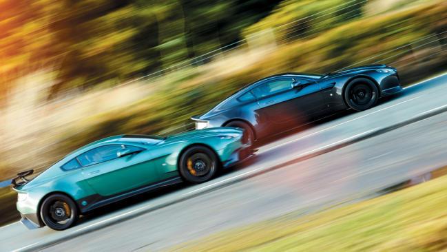 Aston Martin Vantage GT8 vs V600: dos caminos diferentes para un mismo fin