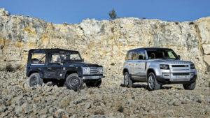 Fotos: Land Rover Defender 90 TD5 (1999) vs. 110 D240 (2020)