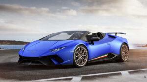 Fotos del Lamborghini Huracán Performante Spyder