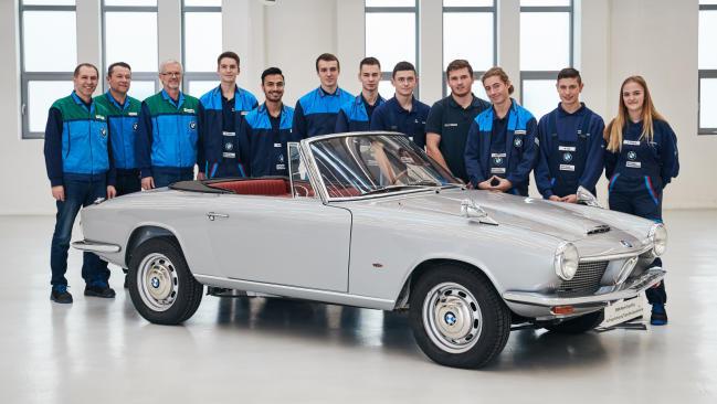 BMW resucita el único BMW 1600 GT convertible que se fabricó