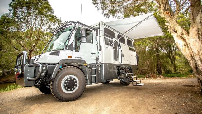 Mercedes EarthCruiser Unimog XPR440: camión, autocaravana y 4×4