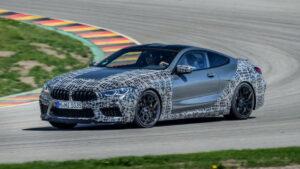 Primeras fotos del BMW M8 Competition