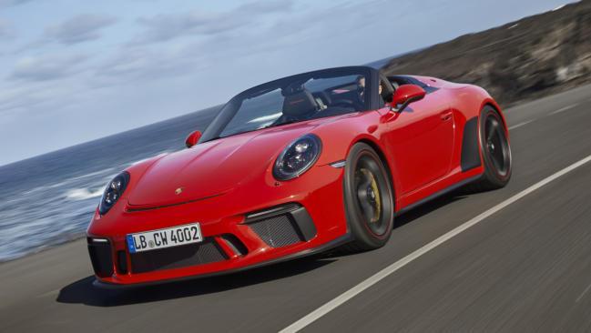 Porsche 911 Speedster: la última unidad se subasta para luchar contra el coronavirus