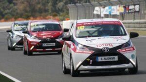 Fotos del Toyota Aygo de la Copa Kobe de Circuitos