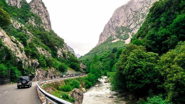 Desfiladeros en autocaravana. La geología marca la ruta