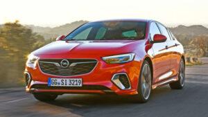 Fotos del Opel Insignia GSI en acción