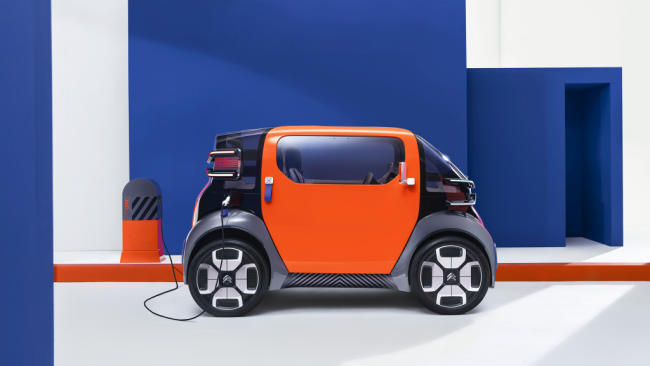 Citroën Ami One Concept: la movilidad urbana del futuro