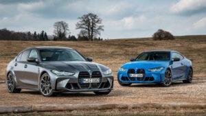 Fotos: BMW M3 y M4 Competition xDrive 2021