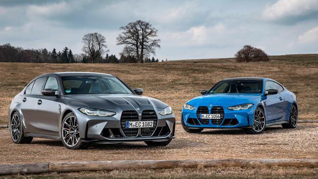 Llegan los nuevos BMW M3 y M4 Competition con tracción total M xDrive