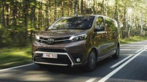 Fotos de la prueba del Toyota Proace