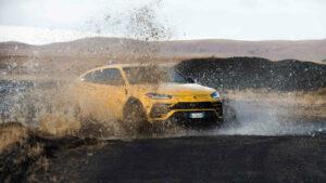 Fotos del Lamborghini Urus de expedición por Islandia