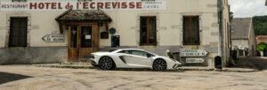 Viaje con el Lamborghini Aventador S en imágenes