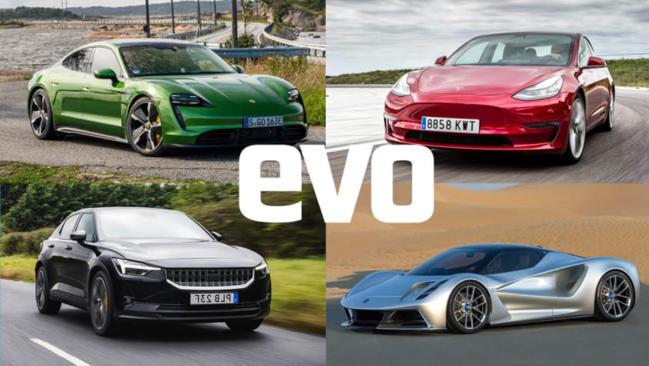 Los nueve coches eléctricos deportivos más emocionantes