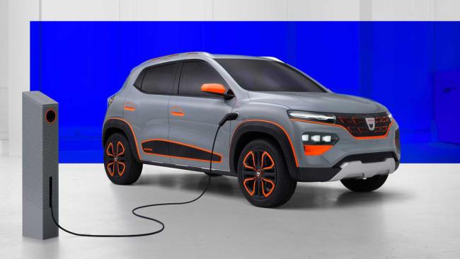 Dacia Spring 2020: anticipo del coche eléctrico más barato