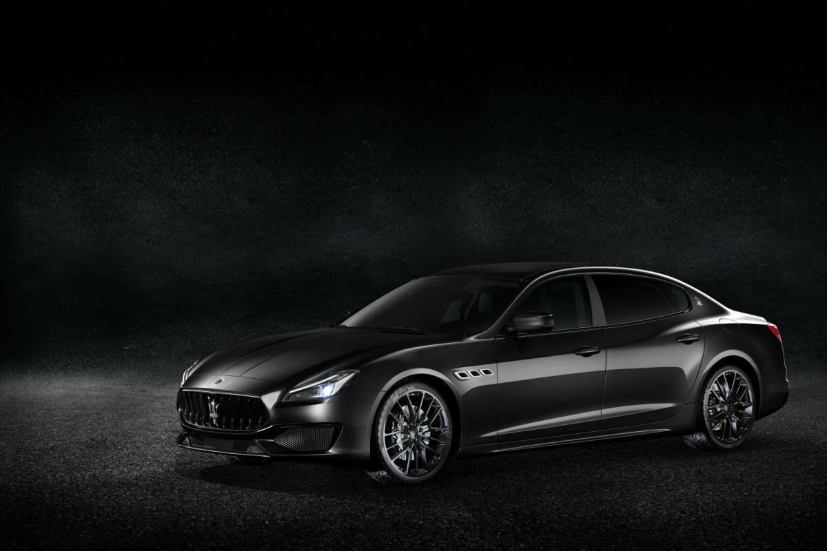 Maserati apuesta por el negro en Ginebra