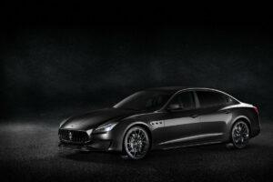 Fotos del los Maserati Nerissimo Edition
