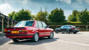 Fotos: BMW M5 contra las superberlinas del pasado