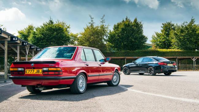 El BMW M5 se enfrenta a las mejores berlinas del pasado