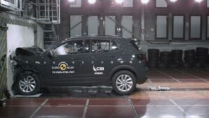 Fotos Euro NCAP del Volkswagen T-Cross