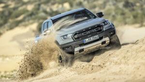 Fotos del Ford Ranger Raptor al detalle