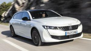 Fotos de la prueba del Peugeot 508 SW