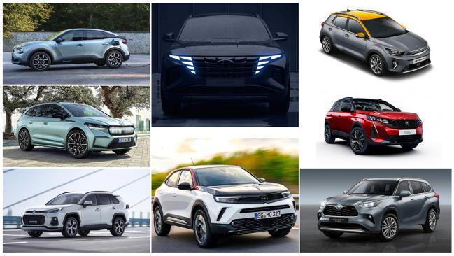 Los 12 nuevos SUV que triunfarán en 2021