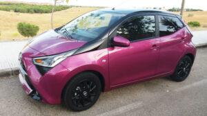 Fotos de la prueba del Toyota Aygo 1.0 x-cite