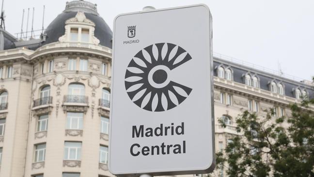 Qué vehículos pueden entrar a Madrid Central