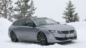 Fotos del Peugeot 508 SW en la Winter Experience