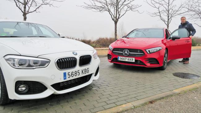 Mercedes Clase A contra BMW Serie 1: ¿novato o veterano?