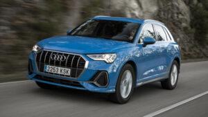 Fotos del Audi Q3 2019 en acción