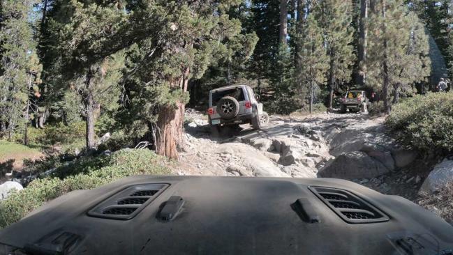 El Rubicon Trail, desde dentro