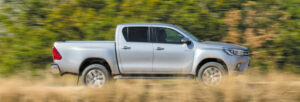 Fotos de la prueba del Toyota Hilux