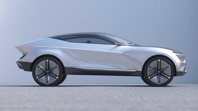Kia Futuron 2019, el anticipo de un futuro SUV eléctrico y coupé