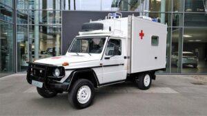 Mercedes/Puch G 290 GD ambulancia