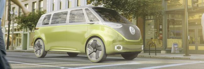 Volkswagen ID Buzz Concept: microbus eléctrico y autónomo