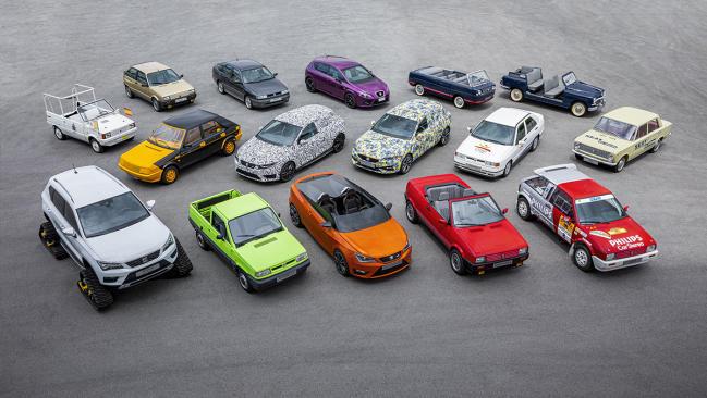 Seat: Repasamos su historia a través de 16 vehículos muy especiales