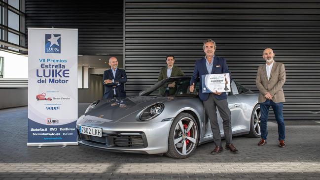 El Porsche 911, Premio EVO al Superdeportivo más vendido a particulares
