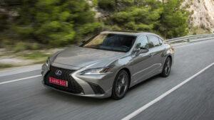 Fotos del Lexus ES 300h a prueba