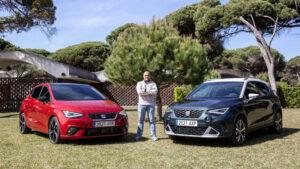 Fotos exclusivas de los Seat Ibiza y Arona 2021