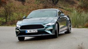 Fotos del Ford Mustang Bullit en acción