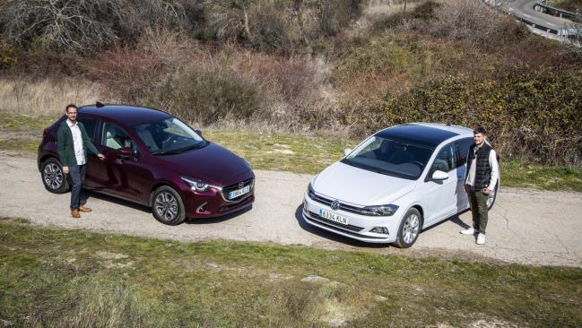 Mazda 2 1.5 frente a VW Polo 1.0 TSI: pequeños sin complejos