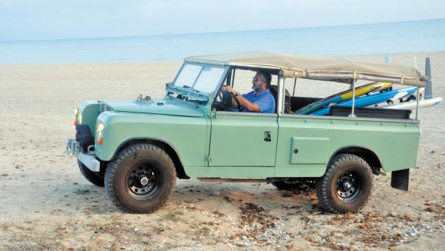 Land Rover Santana 109 Serie II: preparación extrema