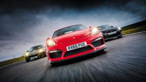 Porsche Cayman GT4 vs Lotus Evora vs Nissan GT-R
