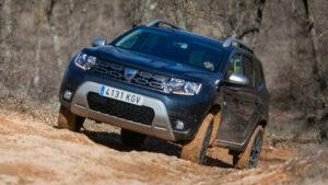 Fotos de la prueba del Dacia Duster 4×4