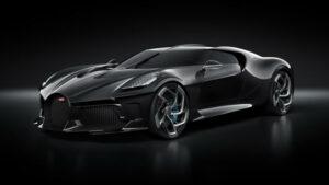 Fotos del Bugatti La Voiture Noire