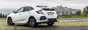Fotos de la prueba del Honda Civic 2017